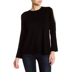 NEW Joie Amalyn Split Shoulder Wool Blend Sweater